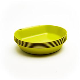Wildo Camper Plate Deep Set Unicolor 6-Pieces, grøn